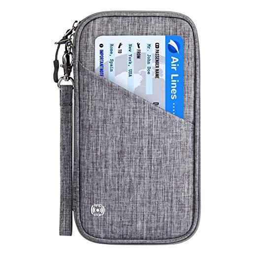 Best For Storage: Vemingo Family Passport Holder with Accordion Design RFID - Blocking