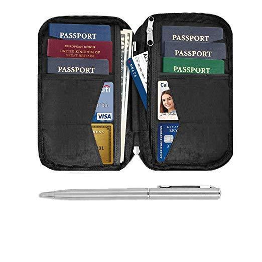 Best Ease To Use: Raytix Travel Wallet & Family Passport Holder