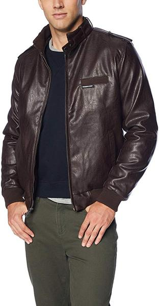 Best Value: Members Only Men's Vegan Faux Leather Jacket