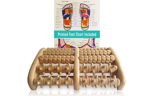 TheraFlow (XL) Dual Foot Massager Roller