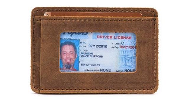 Saddleback Leather Co. Slim Front Pocket Wallet