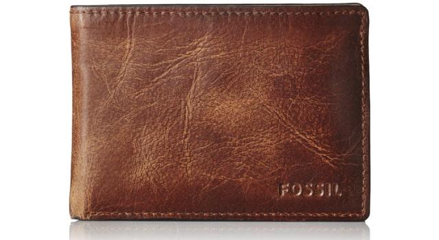 Fossil Men's Derrick Front Pocket Wallet