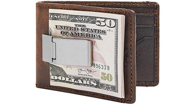 HOJ Co. DEACON ID BIFOLD Front Pocket Wallet