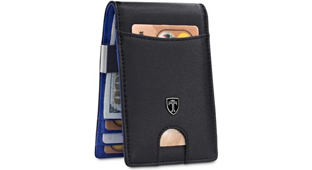 TRAVANDO Slim Front Pocket Wallet