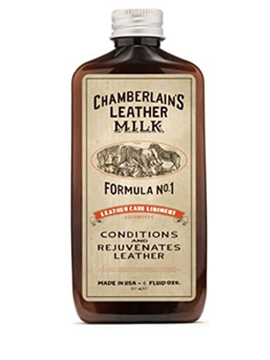 Best All-Natural: Chamberlain's Leather Milk Leather Milk Conditioner and Cleaner