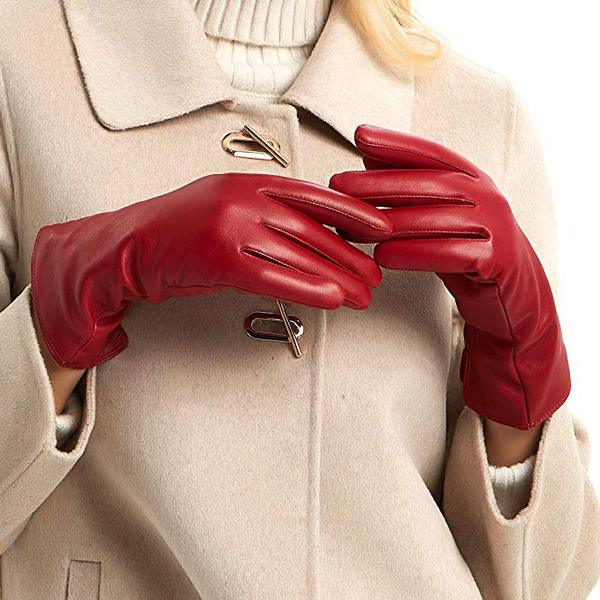 Best Budget: MGGM collection Womens Nappa Lambskin Leather Gloves
