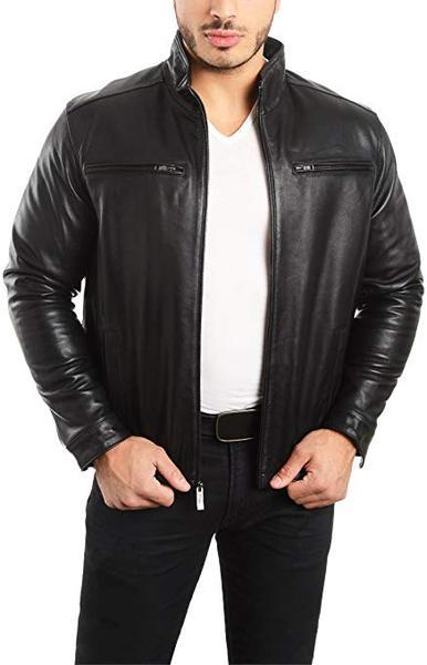 Best Value: REED EST. 1950 Men's Lambskin Leather Jacket