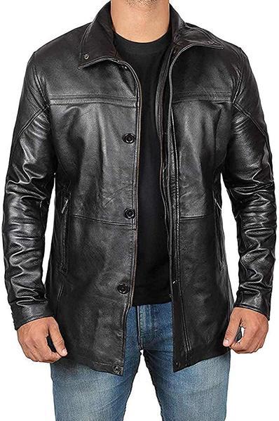Best Design: fjackets Mens Leather Jacket