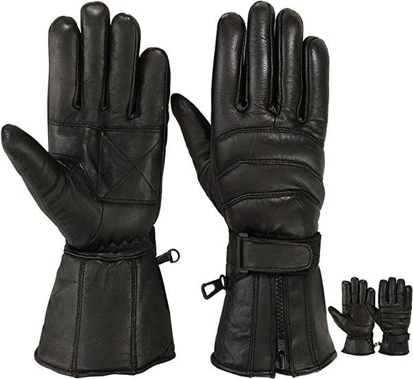 Best for Motorcycle: MOTIVEX Mens Leather Motorcycle Gloves