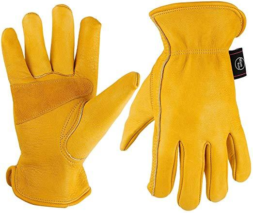 KIM YUAN Leather Motorcycle Gloves