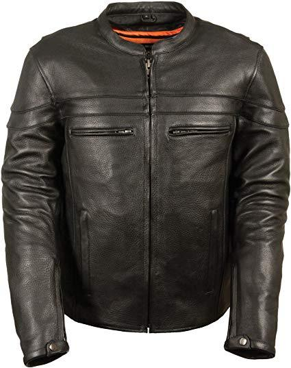 Best for Outdoors: Milwaukee Men's Leather Motorcycle Jacket