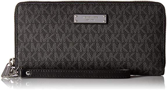 Best Zipper: Michael Kors Women's Jet Set Continental Leather Wallet