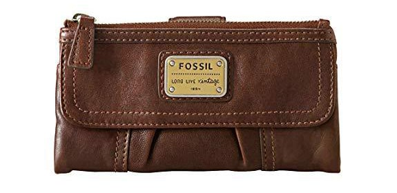 Best Value: Fossil Brown Emory Leather Wallet for Women