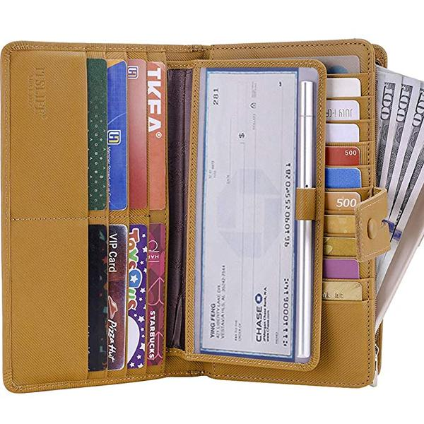 Best Budget: Itslife Big Fat Rfid Leather wallet for Women