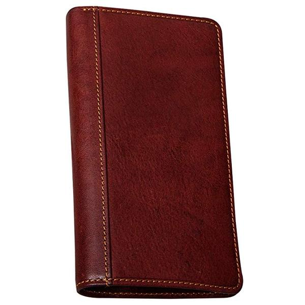 Best Overall: Tony Perotti Large Leather Bifold Checkbook Wallet