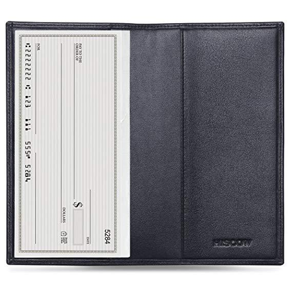 Best Minimalist: HISCOW Minimalist Leather Checkbook Cover