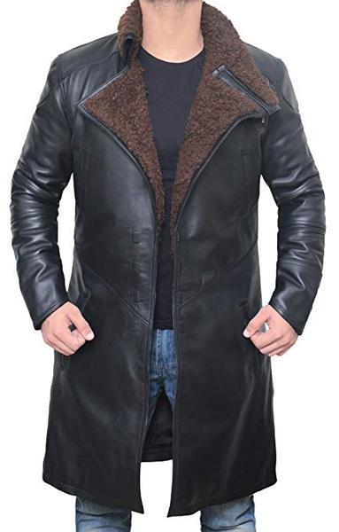 Best Shape: Blingsoul Black Trench Coat for Men