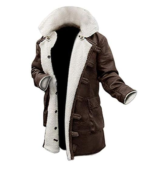 Best Bomber: Blingsoul Shearling Leather Coats for Men