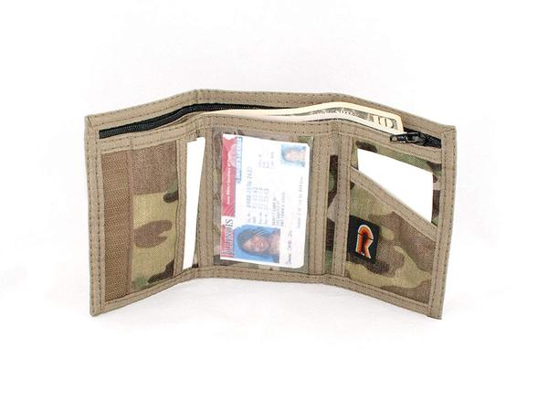 Best Military Camouflage: Rainbow of California Military Camouflage Trifold Wallet