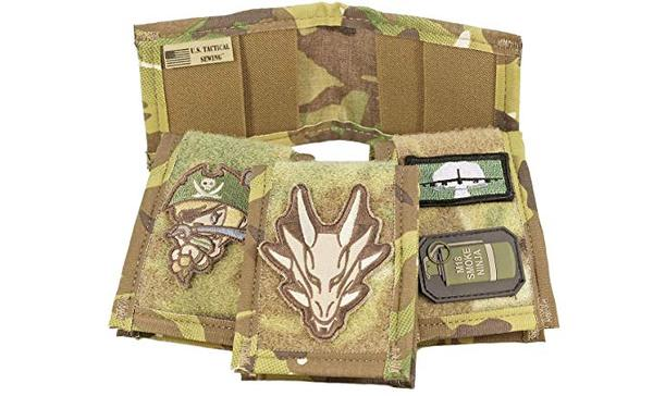 Best Slim: USTS Tactical Slim Patch Military Wallet - Made In USA