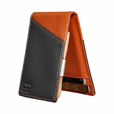 Best Style: F&H Signature Slim RFID Money Clip Wallet