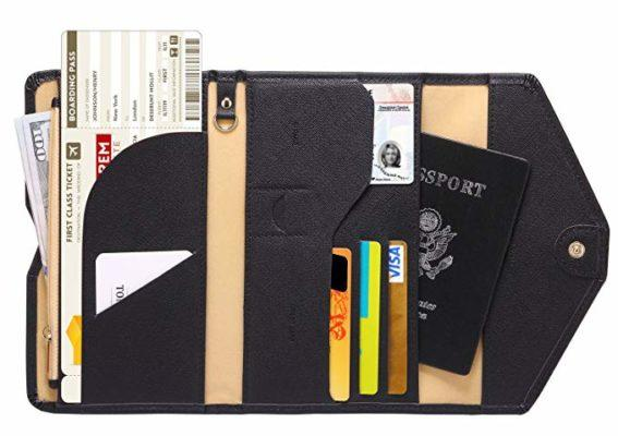 Best Multipurpose: Zoppen Multi-purpose Travel Passport Wallet