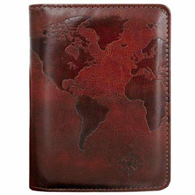 Best Vegan: Kandouren RFID Blocking Passport Holder wallet
