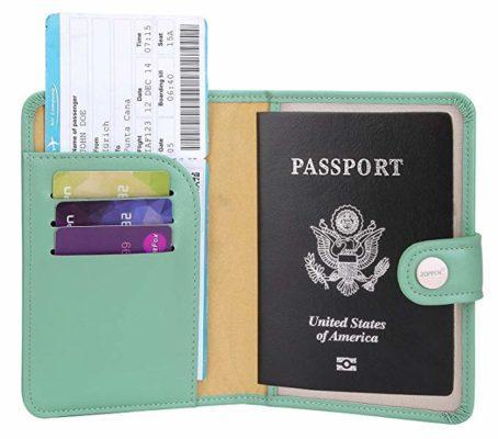 Best For Women: Zoppen Rfid Blocking Passport Holder Wallet