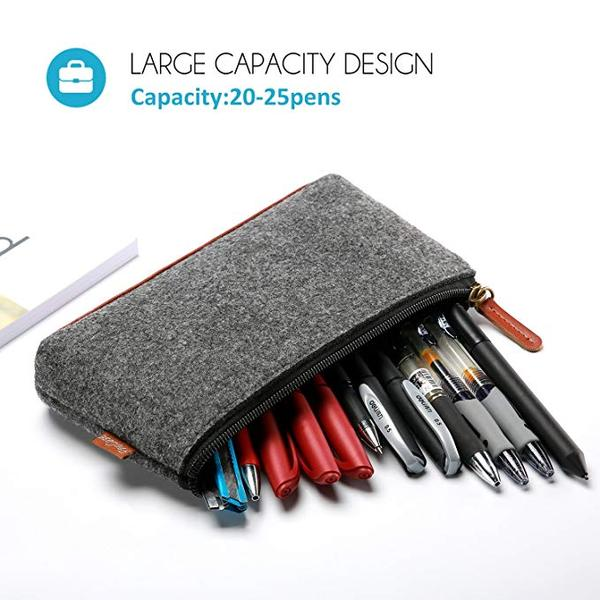 Best For Storage: ProCase Pencil Bag Pen Case