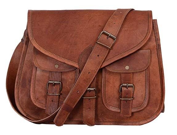 Best For Travel: KPL 14 Inch Leather Purse Womens Shoulder Bag