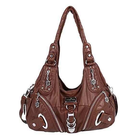 Best for Functionality. Angelkiss Womens Shoulder bag