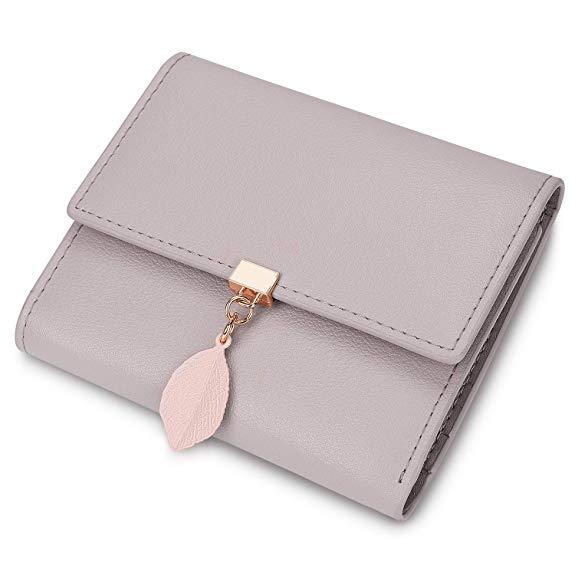 Best for Girls: YALUXE Small Wallet for Women