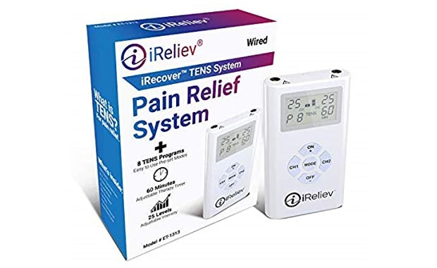 iReliev TENS Unit Electronic Pulse Massager