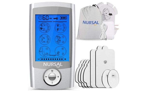 NURSAL EMS TENS Unit Muscle Stimulator