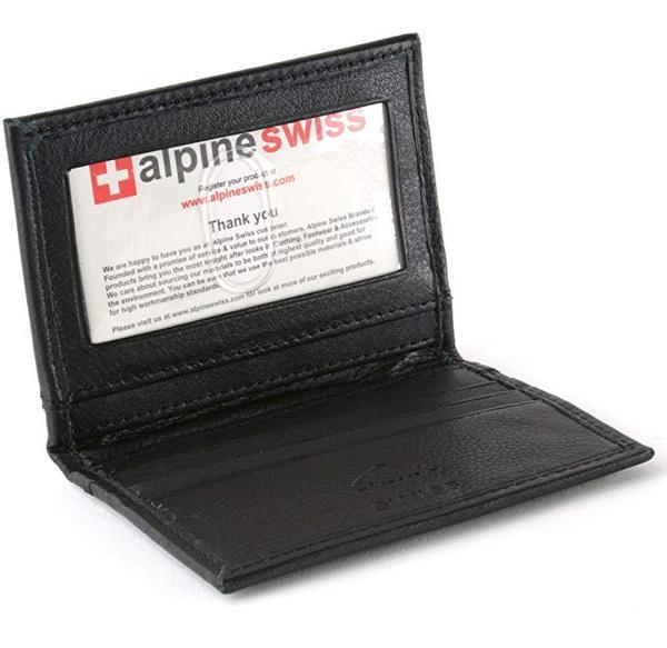 Best for Business: Alpine Swiss Thin Wallet