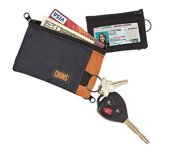 Best Zipper:Chums Thin Surfshort Wallet
