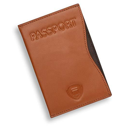 Best Flat: Alban Thin Leather Passport Holder Wallet