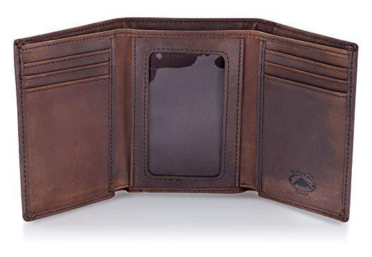 Best Gift for Dad: Stealth Mode Trifold Wallet for Men