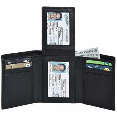 Best Storage: Clifton Heritage Leather Trifold Wallets for Men