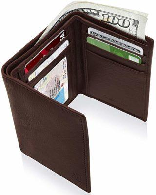 Best Safety: Access Denied Trifold Wallets for Men with RFID