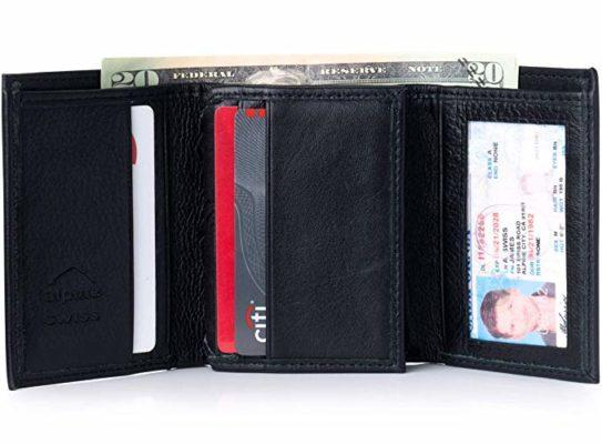 Best Gift For College Graduates: Mens Trifold Wallet