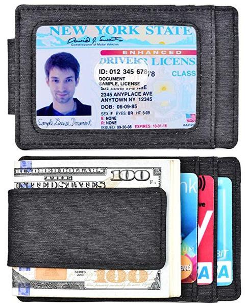 Best Budget: kinzd Front Pocket Waterproof Money Clip Wallet