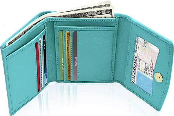 Best Value: Access Denied Small RFID Trifold Wallets For Women
