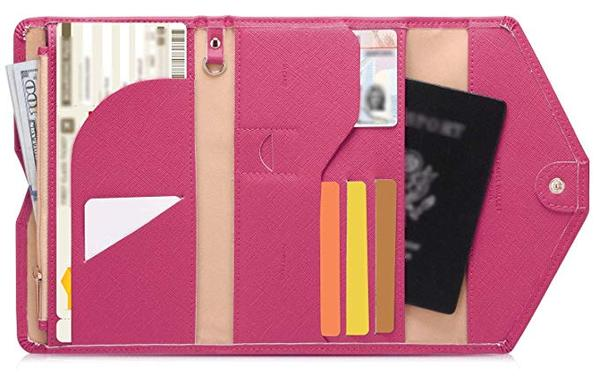 Best for Travel: Zoppen Multi-purpose Rfid Blocking Travel Passport Trifold Wallet