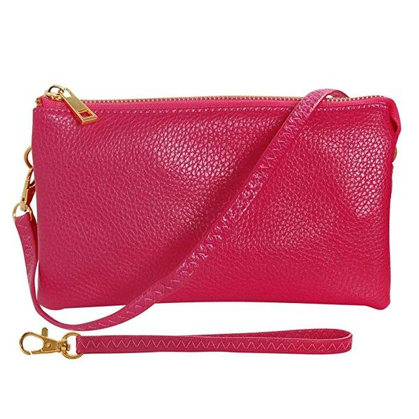 Best for Vegan: Humble Chic Vegan Leather Small Crossbody Bag or Wristlet Wallet
