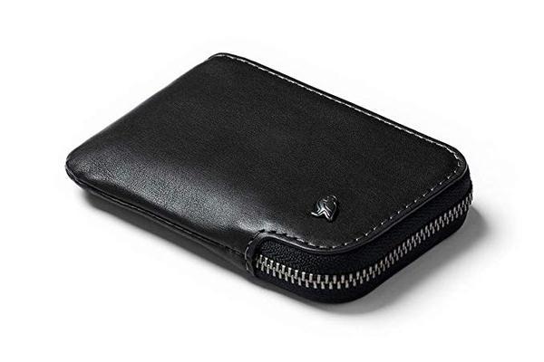 Best Value: Bellroy Leather Card Pocket Zipper Around Wallet