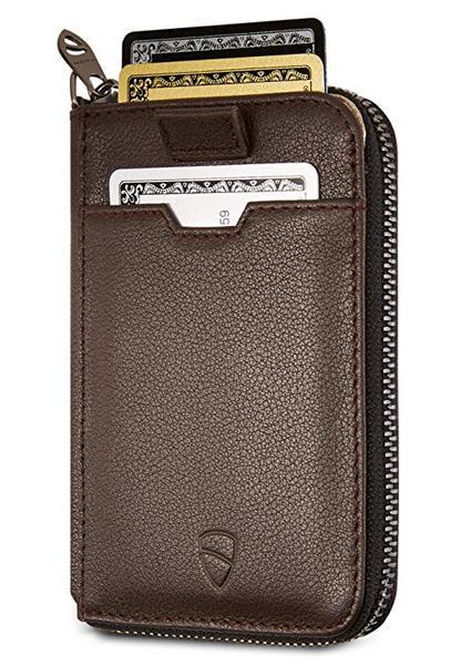 Best Minimalist: Vaultskin NOTTING HILL Slim Zip Wallet