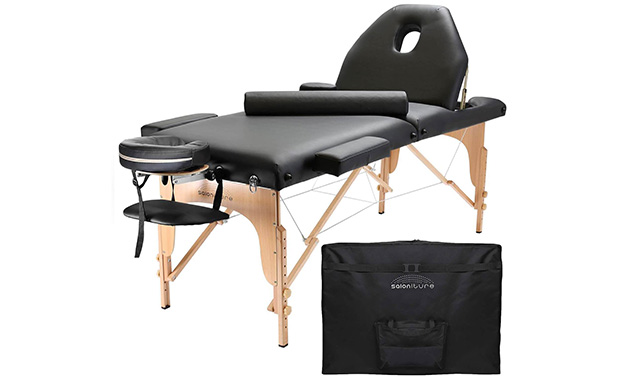 Saloniture Professional Portable Massage Table