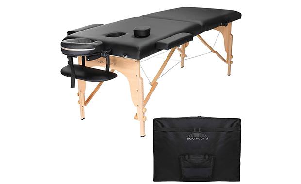 Saloniture Portable Folding Massage Table