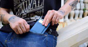 The Slim Front Pocket Wallet for Men